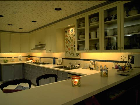 Undercabinet Lights Can Be Used In A Kitchen Or Workspace